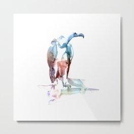 Eagle / Abstract animal portrait. Metal Print