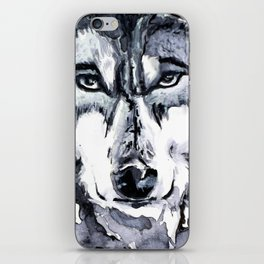 Abstract Wolf - Zoomed iPhone Skin
