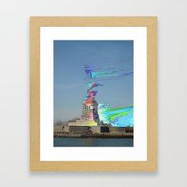 The Erosion of Liberty Framed Art Print
