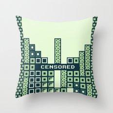 tantric tetris. Throw Pillow