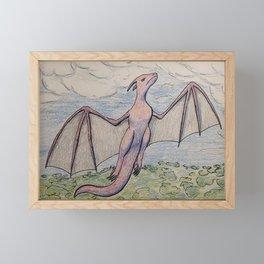 On My Own Wings Framed Mini Art Print