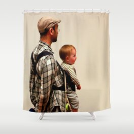 Tot-belly Shower Curtain