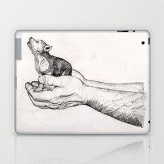 Wolf Cub // Graphite Laptop & iPad Skin