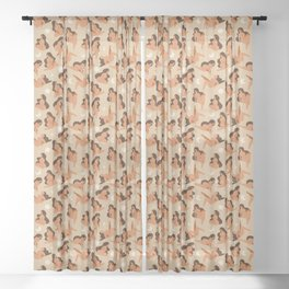 Curvy Girls Sheer Curtain