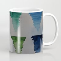 watercolour Mugs featuring Watercolour by Crimson-daisies