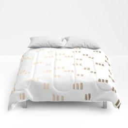 Golden Guards Comforters