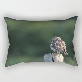 LITTLE OWL ON LOOKOUT Rectangular Pillow