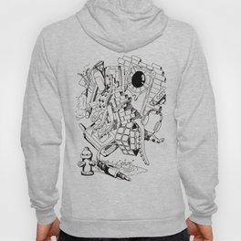 Collage of Thoughts Hoody