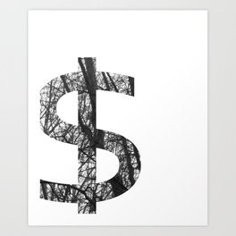 Dollar Sign Art Prints | Society6
