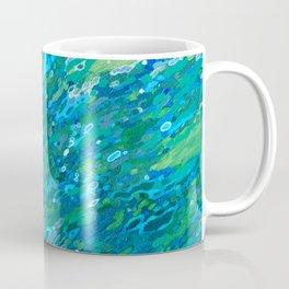 Shades Of Blue Waterfall Coffee Mug