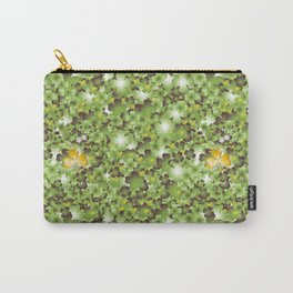 Gold Clover Carry-All Pouch