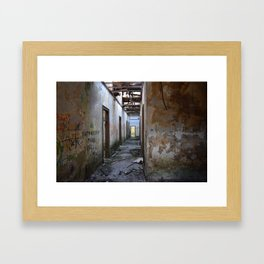 Abandoned Cotton Factory Framed Art Print