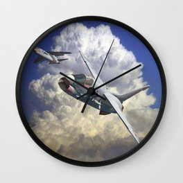 Crusaders! Wall Clock