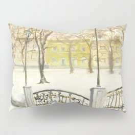 Locks on Little Lovers Bridge Pillow Sham