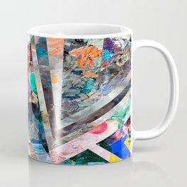 Triangle Forest Abstract Rainbow Coffee Mug