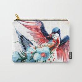 Bleeding Heart Dove Carry-All Pouch