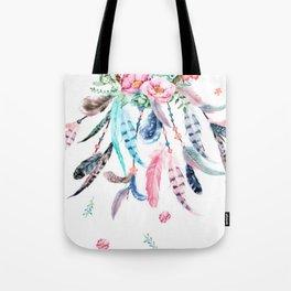 Dreamcatcher Plumage Tote Bag