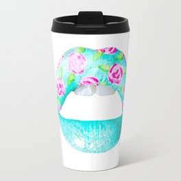 Labios rosados Travel Mug