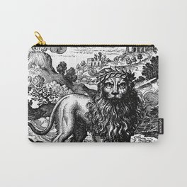 Theosophie & Alchemie - The Green Lion Carry-All Pouch