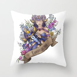 Legendary staff Throw Pillow