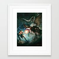 metroid Framed Art Prints featuring Metroid by ImmarArt
