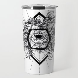 Grotesque Bloom Travel Mug