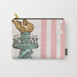 statue of liberty with torch Carry-All Pouch