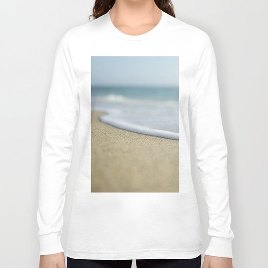 Sea Foam Beach Long Sleeve T-shirt