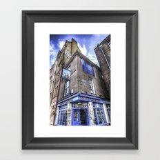 Town of Ramsgate Pub London Framed Art Print