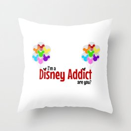 Show your love for the mouse ...  Throw Pillow