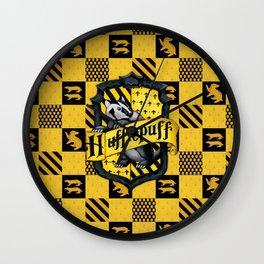POTTER HUFFLEPUFF Wall Clock