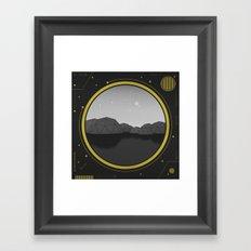 Interconnected Generation Framed Art Print