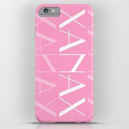 XANAX iPhone Case
