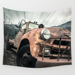 Rusty Road Wall Tapestry