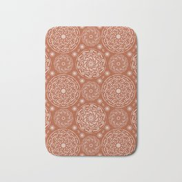 Boho Brownish #society6 #pattern Bath Mat