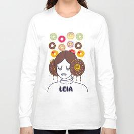 Princess Donut Leia Long Sleeve T-shirt