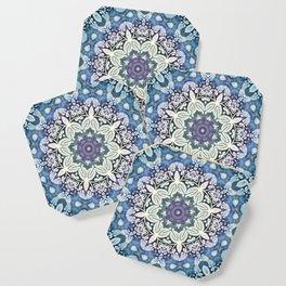 winter  Mandala Coaster