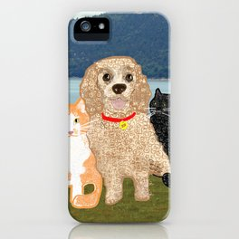 Bailey and Buds iPhone Case