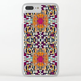 Blocked Clear iPhone Case