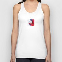 religious Tank Tops featuring LOVE AND MUG by UtArt