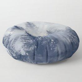 Foggy Forest 2 Floor Pillow