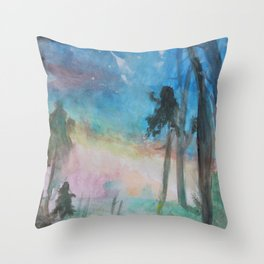 Mystical Magic of Trees 9 Throw Pillow