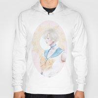 sailormoon Hoodies featuring Sailor Uranus by Pastellish