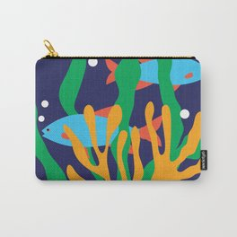 Fishes and seaweeds Carry-All Pouch