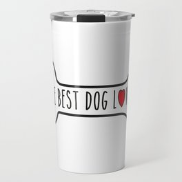 The Best Dog Lover Travel Mug