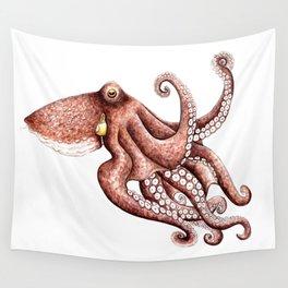Octopus (Octopus vulgaris) Wall Tapestry