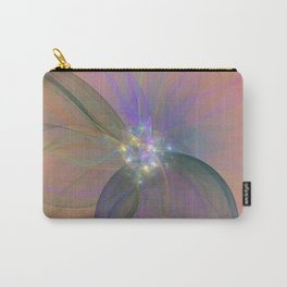 Fairy Blossom Fractal Carry-All Pouch