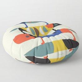 Skate dog Floor Pillow