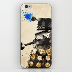 Doctor Who Dalek Rustic iPhone & iPod Skin
