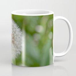 Shower head, infruttescence of the dandelion flower Coffee Mug